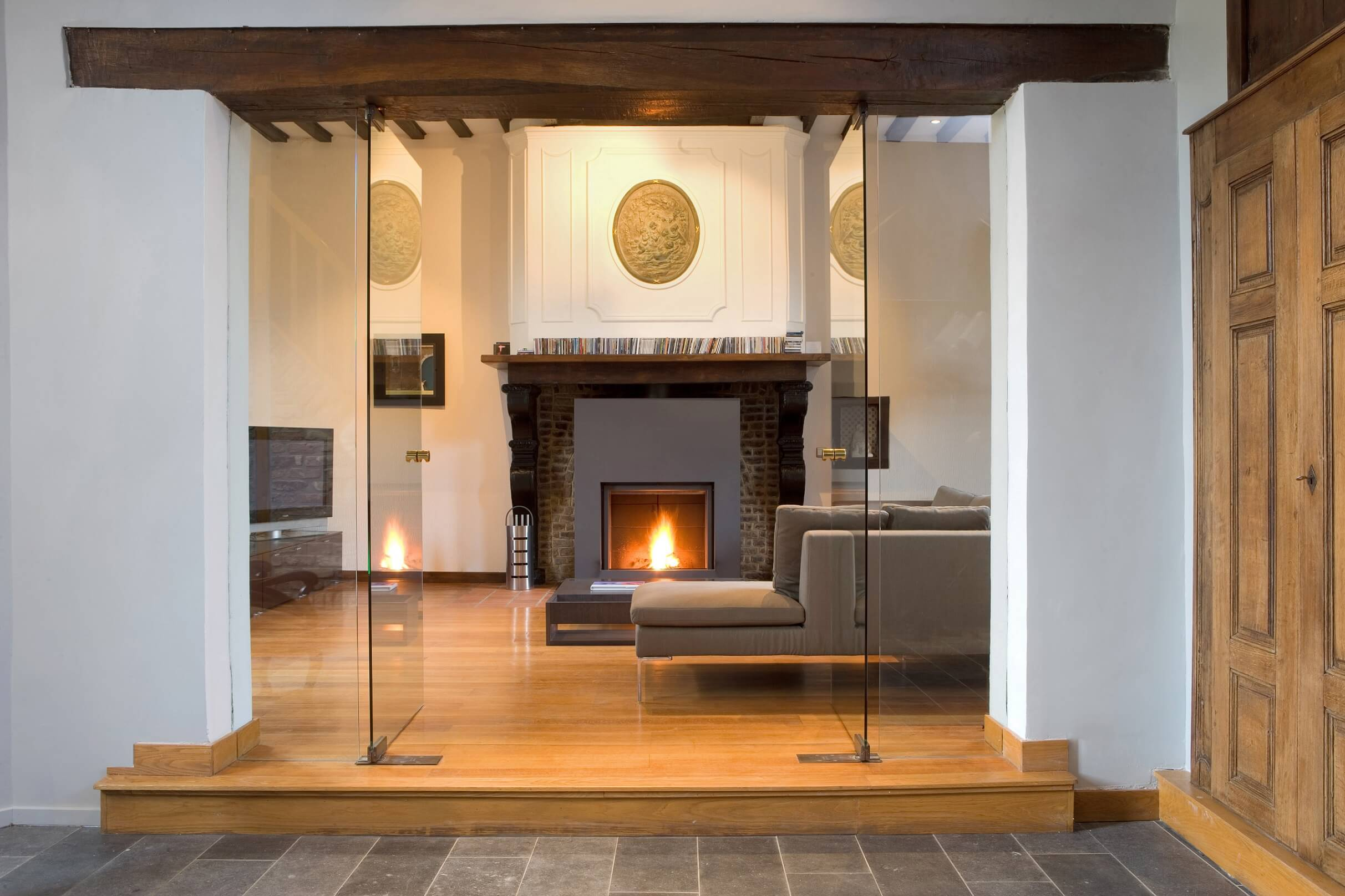 Foyers, foyer au bois and fireplaces on pinterest
